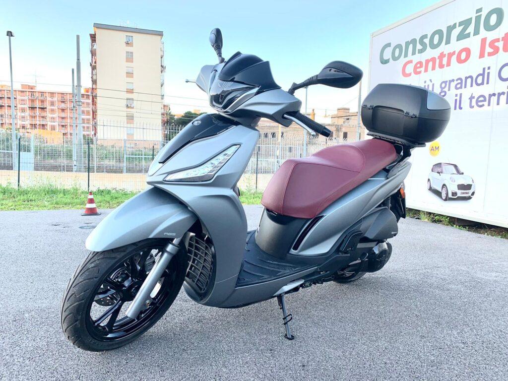 Motociclo per A2 cambio automatico